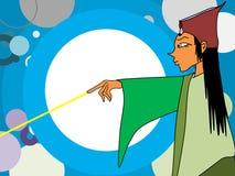 Czarownik magia ilustracji