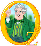 Czarownik Oz royalty ilustracja
