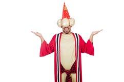 Czarownik w kostiumu Obrazy Royalty Free
