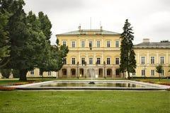 Czartoryski宫殿在Pulawy 波兰 库存图片