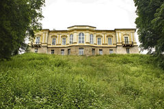 Czartoryski宫殿在Pulawy 波兰 免版税图库摄影