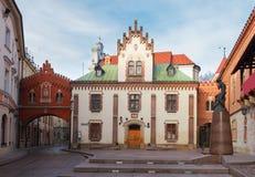 Czartoryski Museum and Library in Krakow, Poland Stock Photos