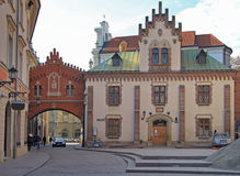 Czartoryski Museum and Library in old town of Krakow Royalty Free Stock Image