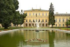 Czartoryski Palace in Pulawy. Poland.  Royalty Free Stock Photos