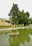 Czartoryski Palace in Pulawy. Poland.  Royalty Free Stock Photo