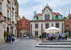 Czartoryskimuseum en Bibliotheek, Krakau, Polen Stock Foto's