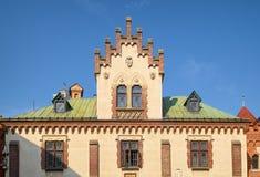 Czartoryskimuseum en Bibliotheek, Krakau, Polen Stock Fotografie