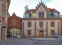 Czartoryskimuseum en Bibliotheek in oude stad van Krakau Royalty-vrije Stock Afbeelding