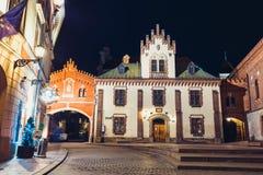 Czartoryskimuseum en Bibliotheek in 1796 wordt en in Oude Stad van Krakau sinds 1876 wordt gevestigd opgericht die die Stock Afbeelding
