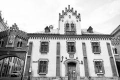 Czartoryskimuseum en bibliotheekhuis in Krakau, Polen Stock Fotografie