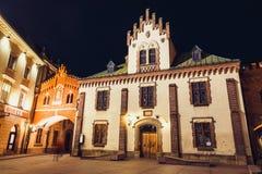 Czartoryskimuseum in oude stad van Krakau Stock Afbeelding