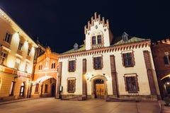 Czartoryskimuseum in oude stad van Krakau Royalty-vrije Stock Afbeelding