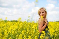 czarująca kobieta Fotografia Stock