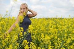 czarująca kobieta Zdjęcie Royalty Free