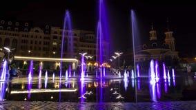 Czasów podołki fontanna zdjęcie wideo