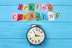Czas dla czyści up dla wiosny Zdjęcie Stock
