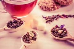 Czas dla filiżanki herbata Obrazy Royalty Free