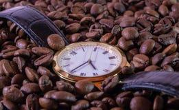 Czas Dla kawy Obrazy Stock