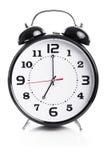 Czas dla pracy - budzików przedstawień Siedem o ` zegar Zdjęcie Royalty Free