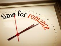 Czas dla romansu Obrazy Royalty Free