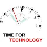 Czas dla technologii Fotografia Stock