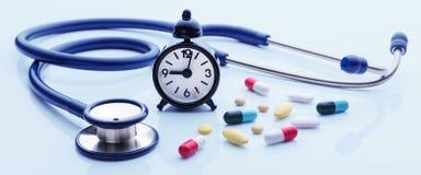 Czas dla zdrowia checkup obrazy royalty free