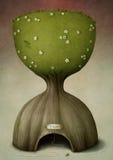 czas drzewo ilustracja wektor