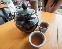 Czas herbaciana przerwa Zdjęcia Royalty Free