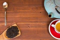 Czas herbaciana przerwa Fotografia Royalty Free