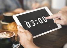 Czas I daty Zegarowy Graficzny pojęcie Obraz Stock