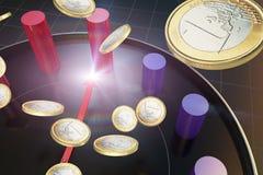 Czas i ekonomiczny ulepszenie ilustracja wektor