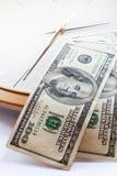 Czas i pieniądze. zdjęcie stock