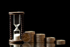 Czas I pieniądze Obraz Stock