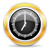 Czas ikona Zdjęcia Stock