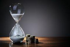 Czas jest pieniądze zdjęcie stock