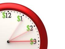 Czas Jest pieniądze Fotografia Stock