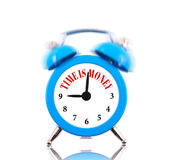 Czas jest pieniądze! Fotografia Royalty Free