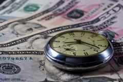 Czas jest pieniądze - pojęcie wizerunek zdjęcie stock