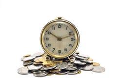 Czas jest pieniądze pojęciem Fotografia Royalty Free