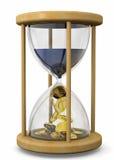Czas jest pieniądze pojęciem - 3D Zdjęcie Stock