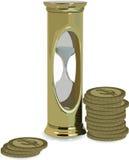 czas jest pieniądze royalty ilustracja