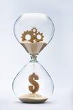 Czas jest pieniądze Obrazy Stock