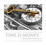 Czas jest pieniądze Obraz Stock