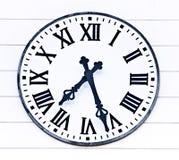 czas kościół zegaru stary czas Obrazy Royalty Free