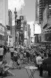 Czas Kwadratowy Miasto Nowy Jork obrazy royalty free