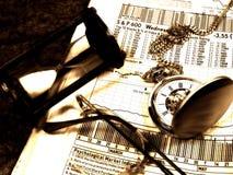 czas na rynku obraz stock