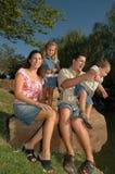 czas na zdjęcie rodzinne obrazy stock