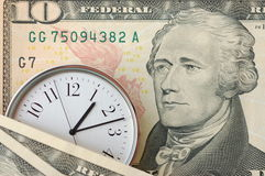 czas, pieniądze zdjęcia royalty free