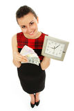 Czas pieniądze jest Zdjęcia Stock