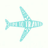 czas podróży Zdjęcia Stock